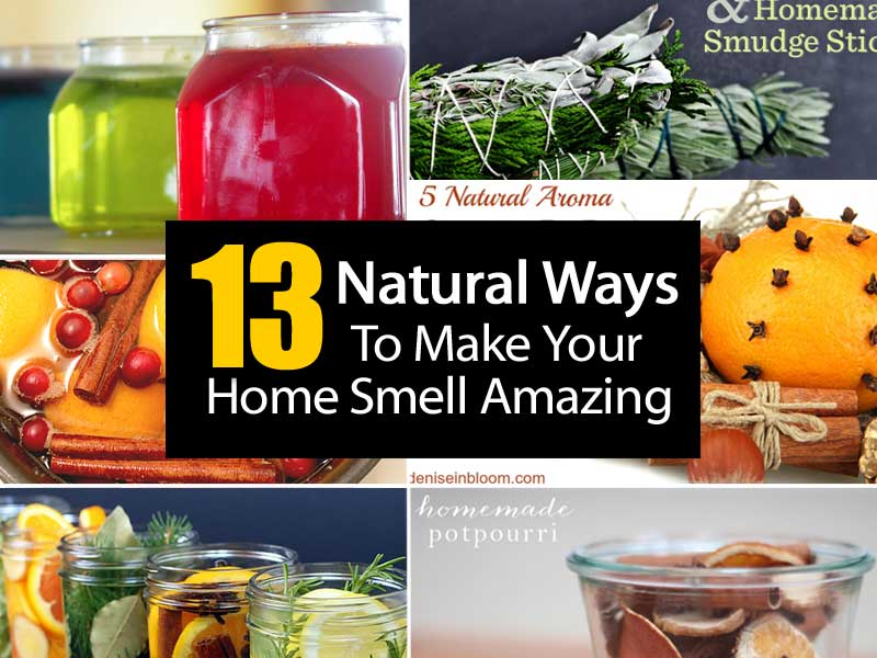 13 natural ways to make your home smell amazing for What makes house smell good