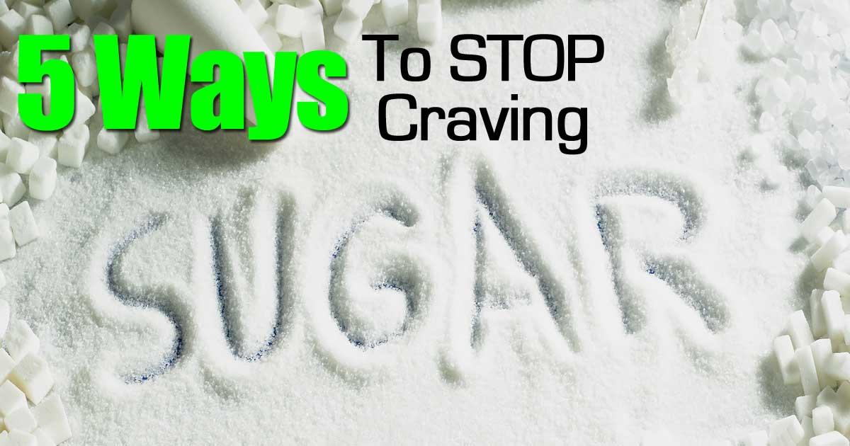 Natural Ways To Stop Sugar Cravings